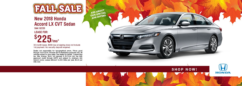 Honda Accord Lease Specials Accord Sale