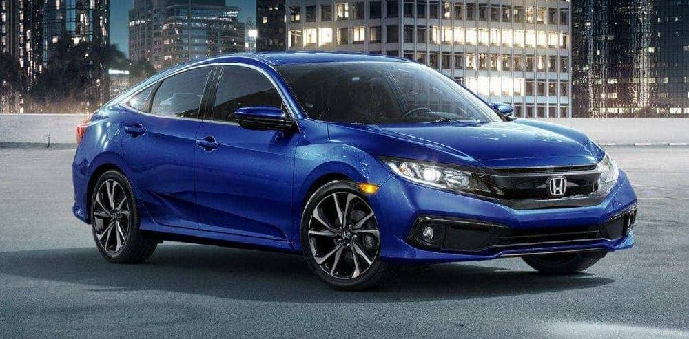 Blue Honda Civic Oak Lawn