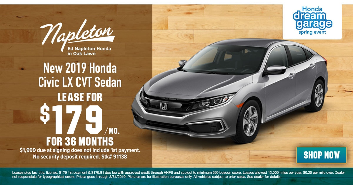 Honda Odyssey For Sale Near Me >> New Honda Civic Lease deals Chicago, Dealership Civic Sale