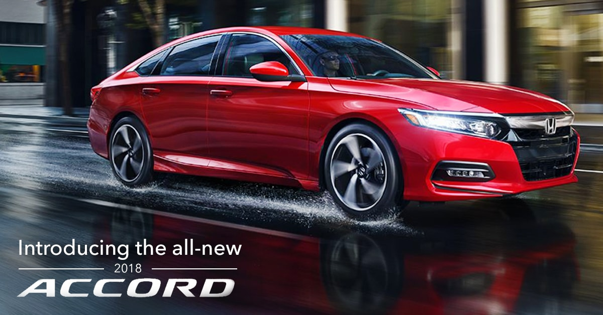 Ed Napleton Honda >> Meet The All New 2018 Honda Accord Reimagining The Mid Sized Sedan