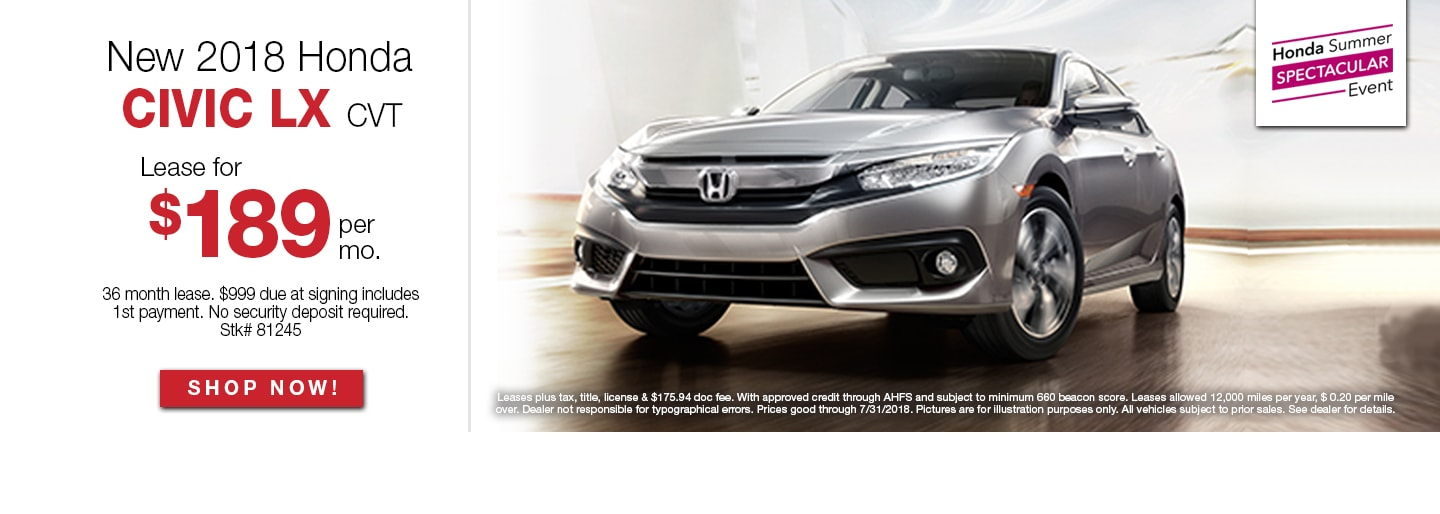 Honda dealership Napleton Honda Chicago Oak Lawn car dealer
