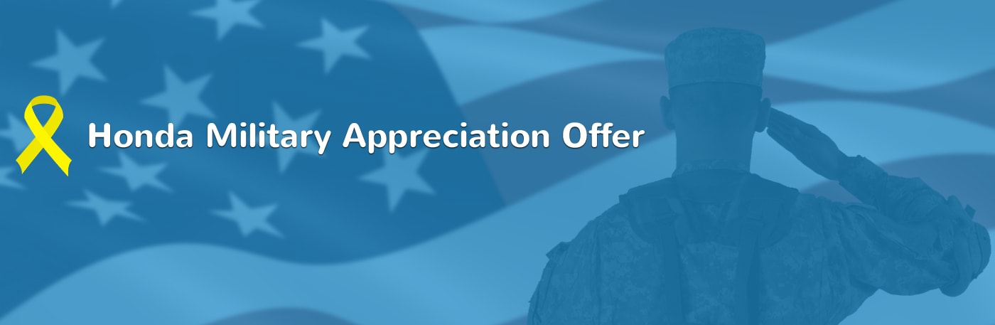 Ed Napleton Honda >> Honda Military Appreciation Offer Ed Napleton Honda