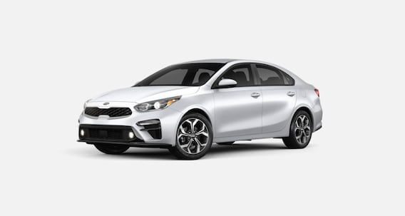 Silky Silver Kia Forte For Sale in West Palm Beach Florida
