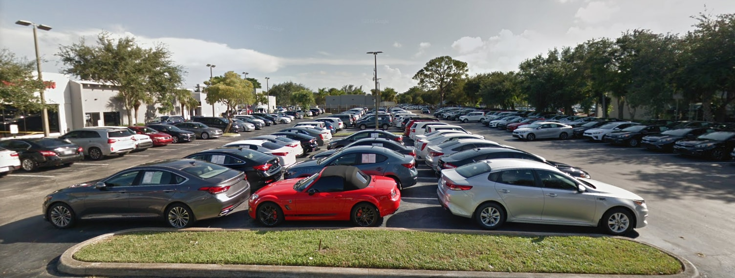 Northlake Kia Used Car Lot