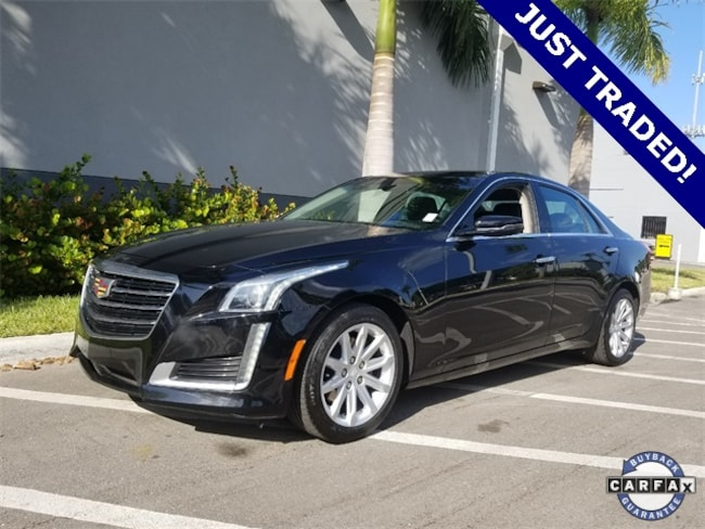 2016 Cadillac CTS 2.0L Turbo Sedan