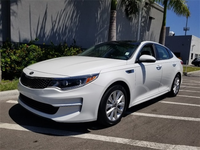 Certified 2016 Kia Optima EX Sedan in Palm Beach Gardens, FL