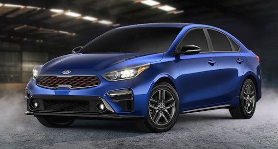 Blue Kia Forte For Sale in West Palm Beach