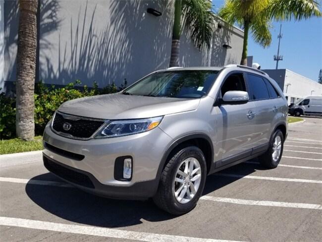 Certified 2015 Kia Sorento LX SUV in Palm Beach Gardens, FL