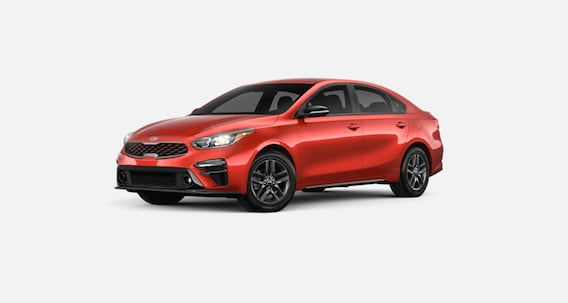 Fire Orange Kia Forte For Sale in West Palm Beach Florida