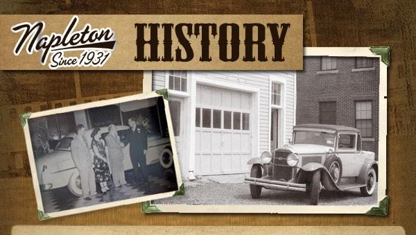 Ed Napleton Kia >> Ed Napleton Automotive History   Napleton's Mid Rivers Kia