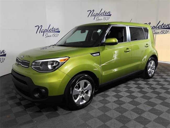 Certified 2017 Kia Soul Base Hatchback in Palm Beach Gardens, FL