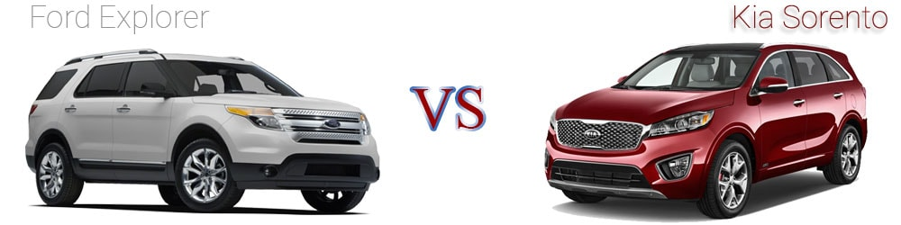 Kia Sorento VS Ford Explorer