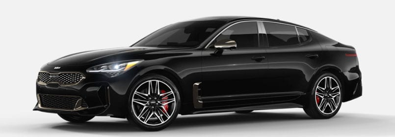 Aurora Black Pearl Kia Stinger For SaleIn Carmel, IN
