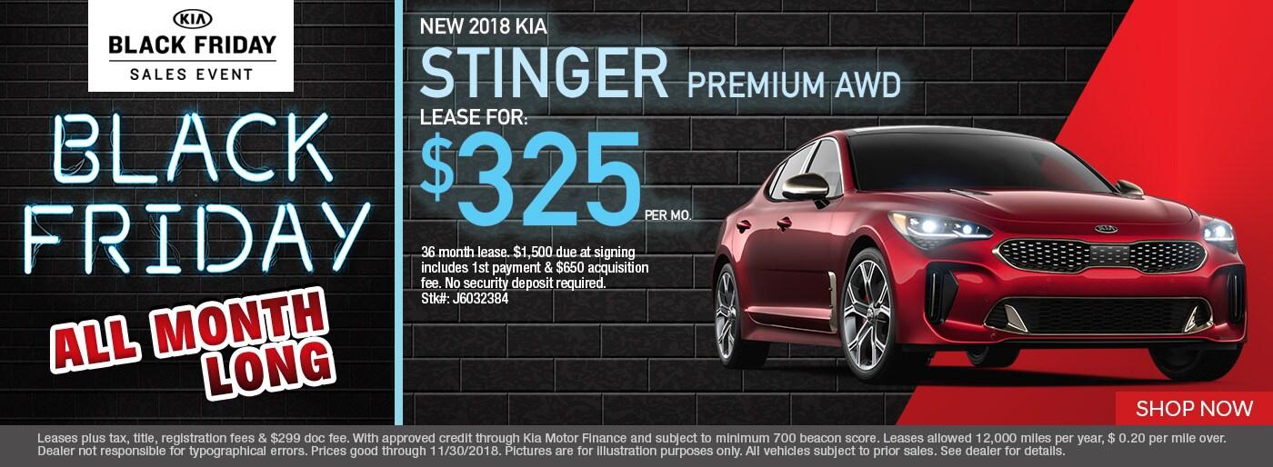 Kia Stinger Monthly Special Napleton Kia Of Carmel