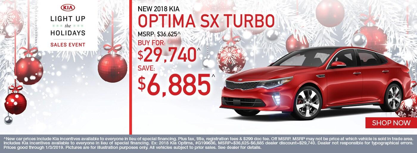 Kia Optima Monthly Special Napleton Kia Of Carmel