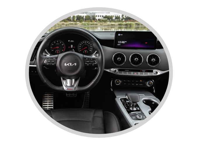 Kia Stinger Interior Features