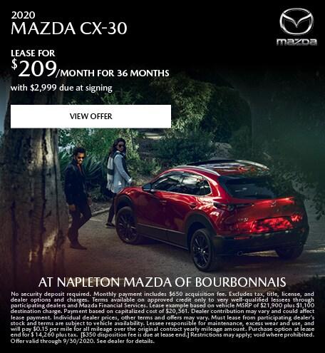 2020 MAZDA CX-30 September