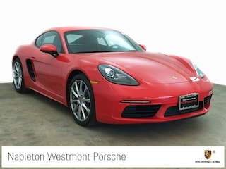 2017 Porsche 718 Cayman Base Coupe