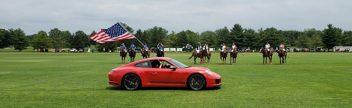 Napleton Westmont Porsche At The Oak Brook Polo Club