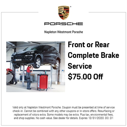 Front or Rear Complete Brake Service