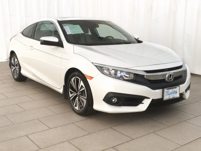 CPO 2017 Honda Civic EX-T Coupe in Lansing IL