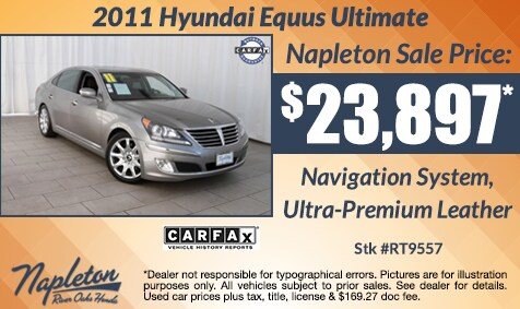 Used Car Specials | Napleton River Oaks Honda | New Honda dealership