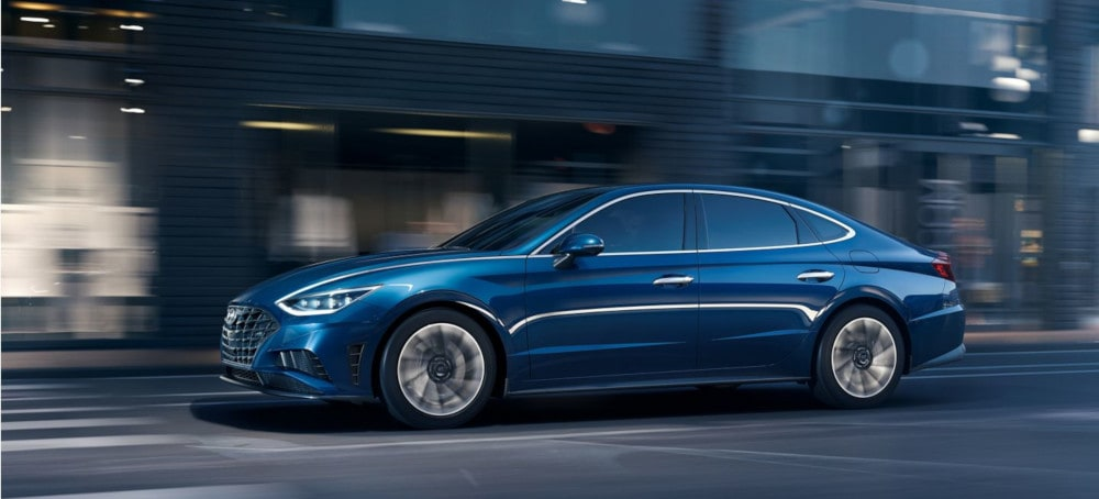 New 2020 Sonata Exterior Side View