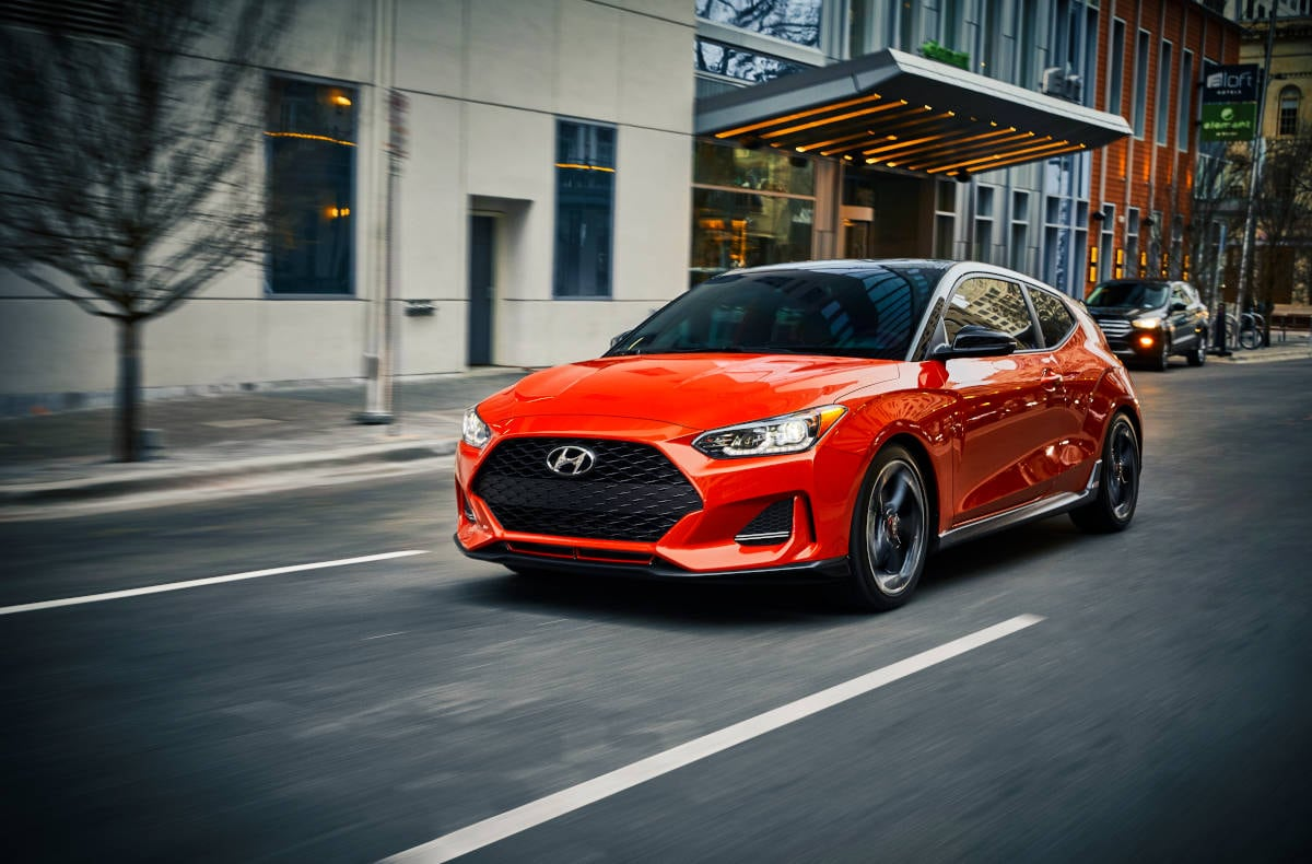 2019 Hyundai Velosters Sports Cars