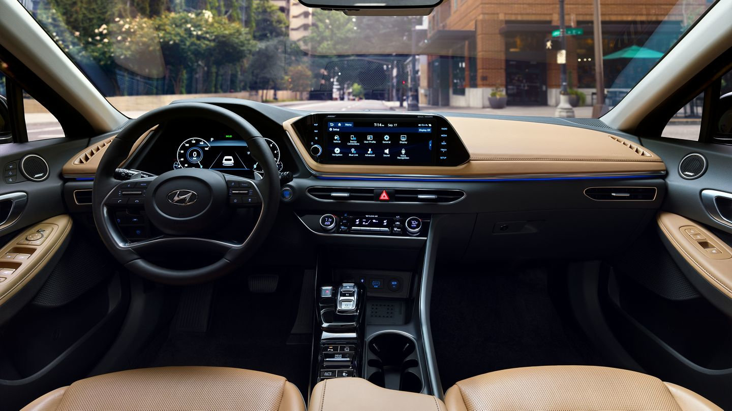 New 2020 Sonata Elegant Upscale Leather Interior with HD Display