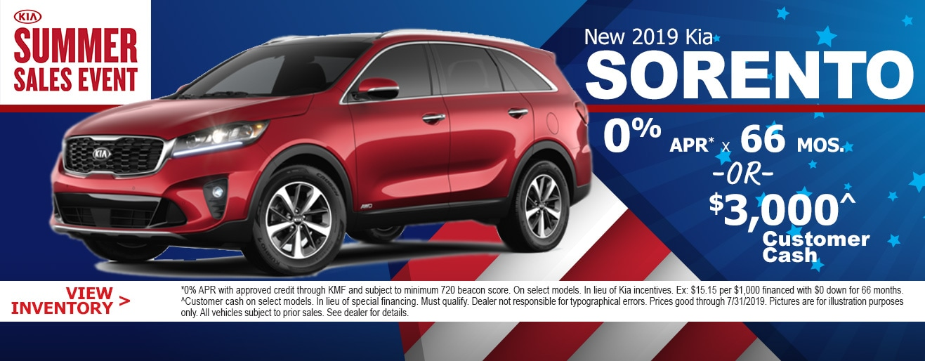 New Kia Specials Kia Deals Car Suv Deals Napleton River Oaks Kia