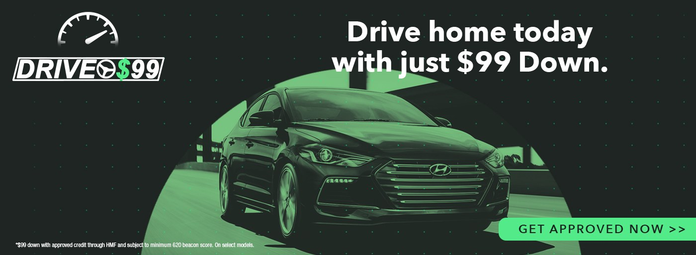 Drive for $99 Financing Program