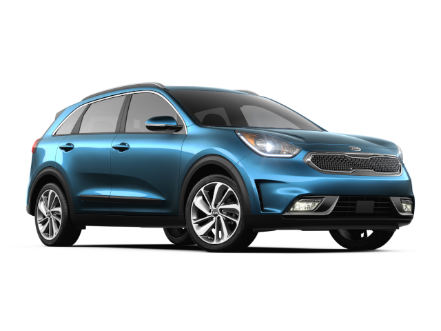 New 2019 Kia Niro Light Blue Exterior