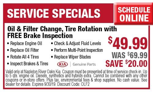 picture regarding Take 5 Oil Change Coupons Printable identified as Oil Distinction Discount coupons Close to Calumet Town IL River Oaks Kia