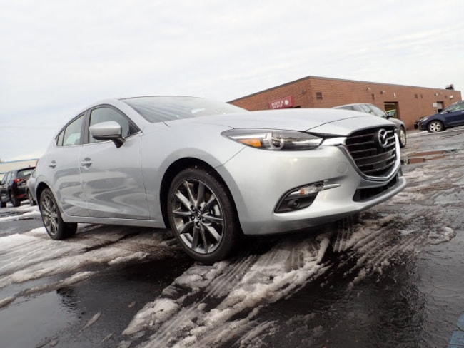 new Mazda vehicles 2018 Mazda Mazda3 Grand Touring Hatchback for sale near you in Arlington Heights, IL