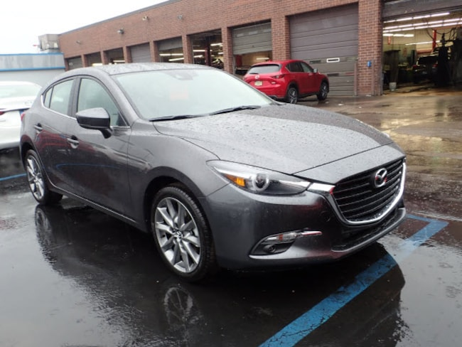 new Mazda vehicles 2018 Mazda Mazda3 Grand Touring Auto Hatchback for sale near you in Arlington Heights, IL