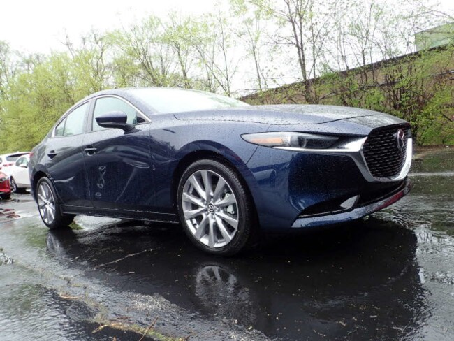 new Mazda vehicles 2019 Mazda Mazda3 Premium Package Sedan for sale near you in Arlington Heights, IL