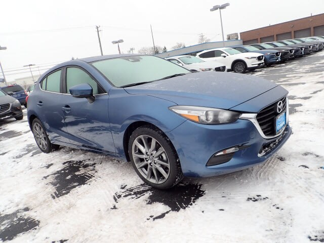 Featured new Mazda vehicles 2018 Mazda Mazda3 Touring Hatchback for sale near you in Arlington Heights, IL