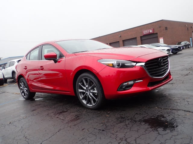 Featured new Mazda vehicles 2018 Mazda Mazda3 Grand Touring Sedan for sale near you in Arlington Heights, IL