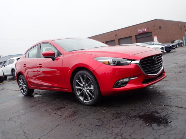 new Mazda vehicles 2018 Mazda Mazda3 Grand Touring Sedan for sale near you in Arlington Heights, IL