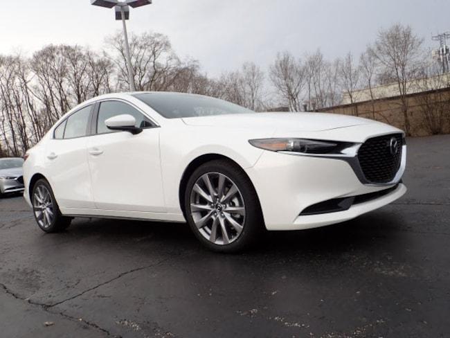 new Mazda vehicles 2019 Mazda Mazda3 Premium Package Sedan for sale near you in Arlington Heights, IL