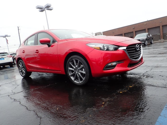 new Mazda vehicles 2018 Mazda Mazda3 Touring Hatchback for sale near you in Arlington Heights, IL