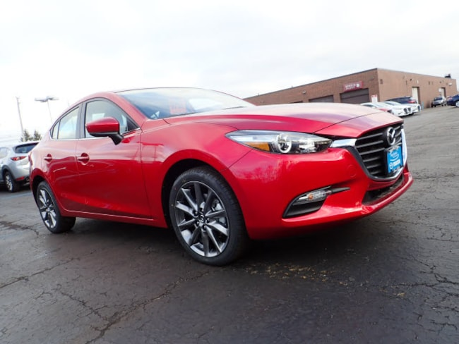 new Mazda vehicles 2018 Mazda Mazda3 Touring Sedan for sale near you in Arlington Heights, IL