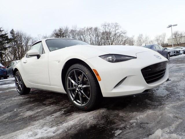 Featured new Mazda vehicles 2019 Mazda Mazda MX-5 Miata RF Grand Touring Coupe for sale near you in Arlington Heights, IL