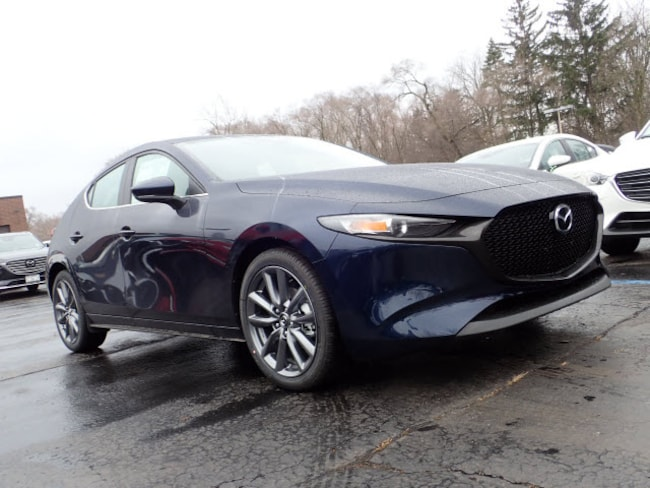 new Mazda vehicles 2019 Mazda Mazda3 Preferred Package Hatchback for sale near you in Arlington Heights, IL