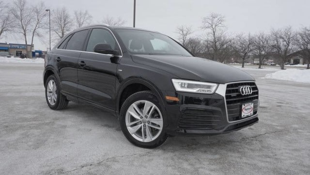 Used 2018 Audi Q3 Premium Plus SUV for sale in Loves Park, IL