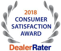 2018 Consumer Satisfaction Award - Napleton's Auto Park of Urbana
