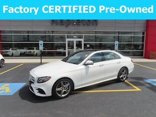 Certified pre-owned Mercedes-Benz vehicles 2017 Mercedes-Benz E-Class E 300 4MATIC Sedan for sale near you in Schererville, IN