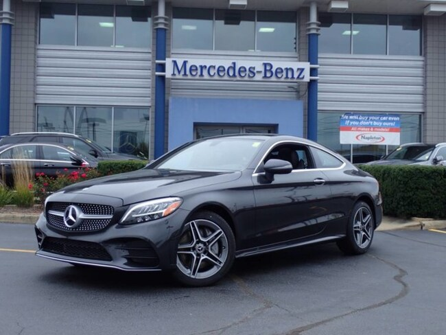 New Mercedes-Benz vehicle 2019 Mercedes-Benz C-Class C 300 4MATIC Coupe for sale near you in Schererville, IN
