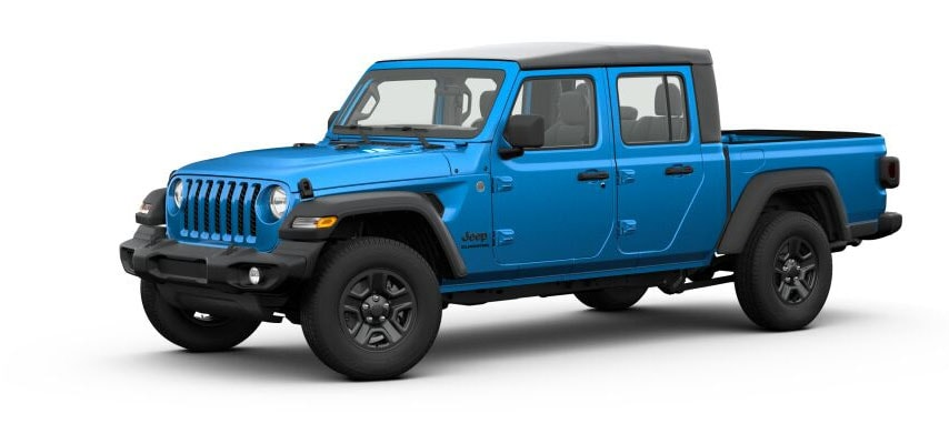 Hydro Blue Jeep Gladiator For Sale in Clermont Florida