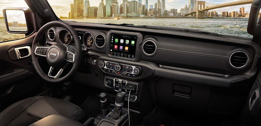 Clermont Jeep Gladiator Uconnect System